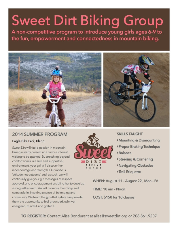 Announcing Sweet Dirt Biking Group Summer Program